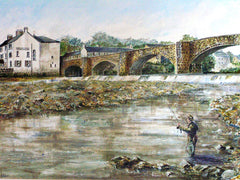 Fishing, Haydon Bridge, Northumberland