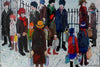 Winter  Shoppers - The Wallington Gallery