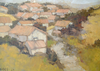 A Village In Provence - The Wallington Gallery