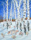 Silver Birch in Winter - The Wallington Gallery