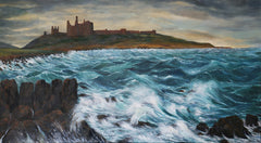 Storm passes at Dunstanburgh