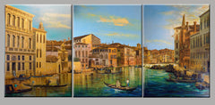 Triptych Contemporary Canaletto