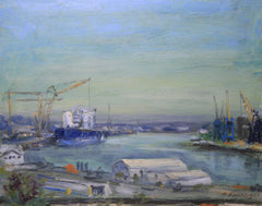 The Last Shipyards Grey Morning
