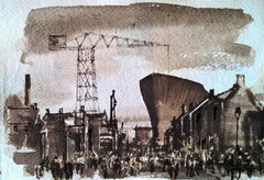 Ghosts of Wallsend Shipyards