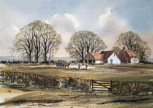 Rowland Hilder Watercolour Paintings For Sale At The