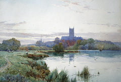 Worcester Cathedral from the River Severn
