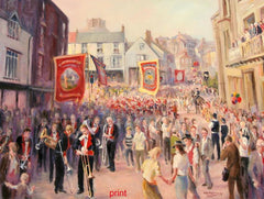 The Durham Miners Gala