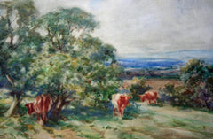 Northumberland Landscape with Cows