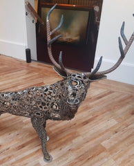 Staring Stag (sculpture)