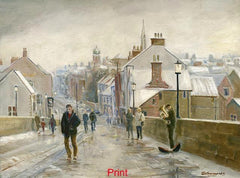 Elvet Bridge in Winter, Durham