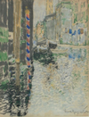 A Canal Scene Venice - The Wallington Gallery