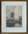 Dutch Windmill - The Wallington Gallery
