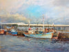 Fishing Boats, North Shields - The Wallington Gallery