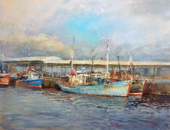 Fishing Boats, North Shields