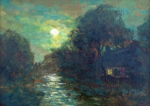 Moonlit Cottage on the North Tyne