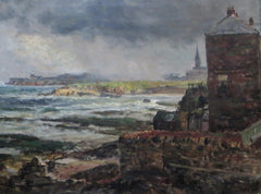 Cullercoats, looking towards Tynemouth Priory