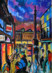 Newcastle - Blackett Street, Evening