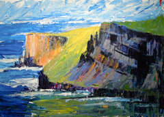 Western Ireland - Cliffs of Mohur