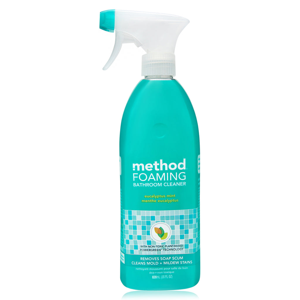 foaming bathroom cleaner eucalyptus mint 828ml