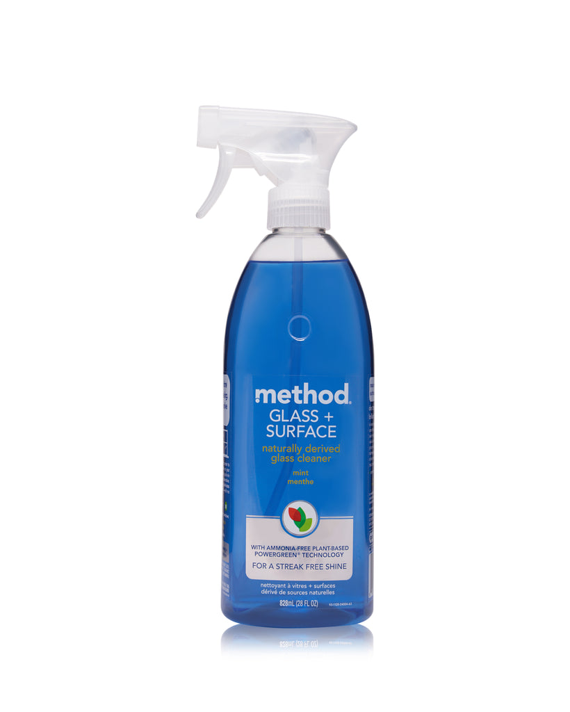 glass + surface cleaner mint 828ml