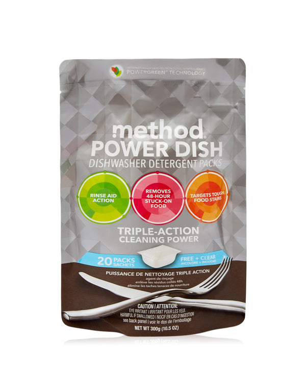 power dish tablets free + clear 20 tabs