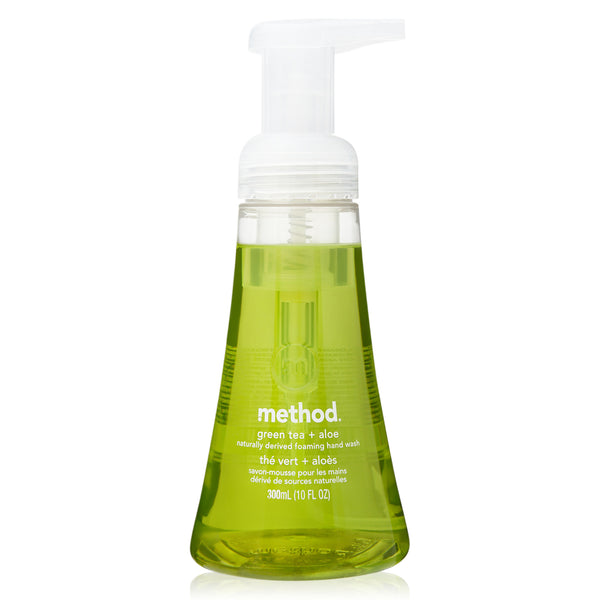 foaming hand wash green tea + aloe 300ml