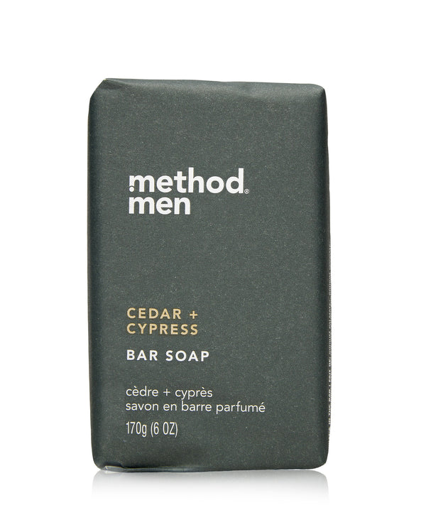 mens bar soap cedar & cyprus 170g