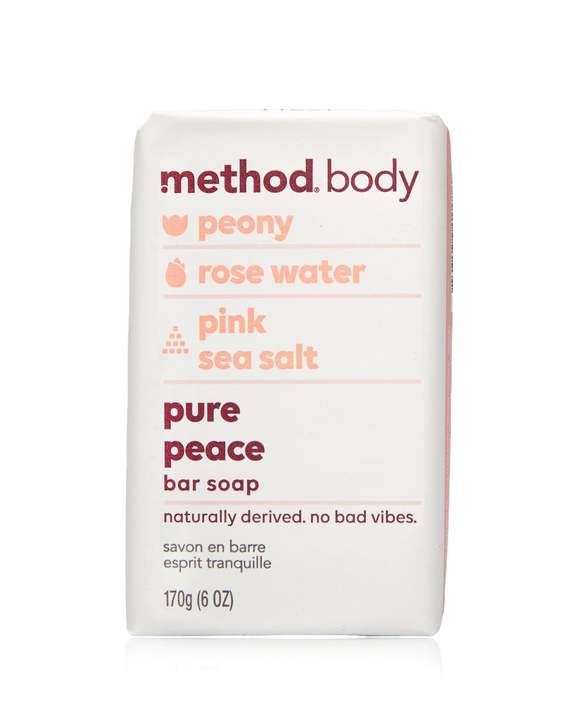 body bar soap pure peace 170g