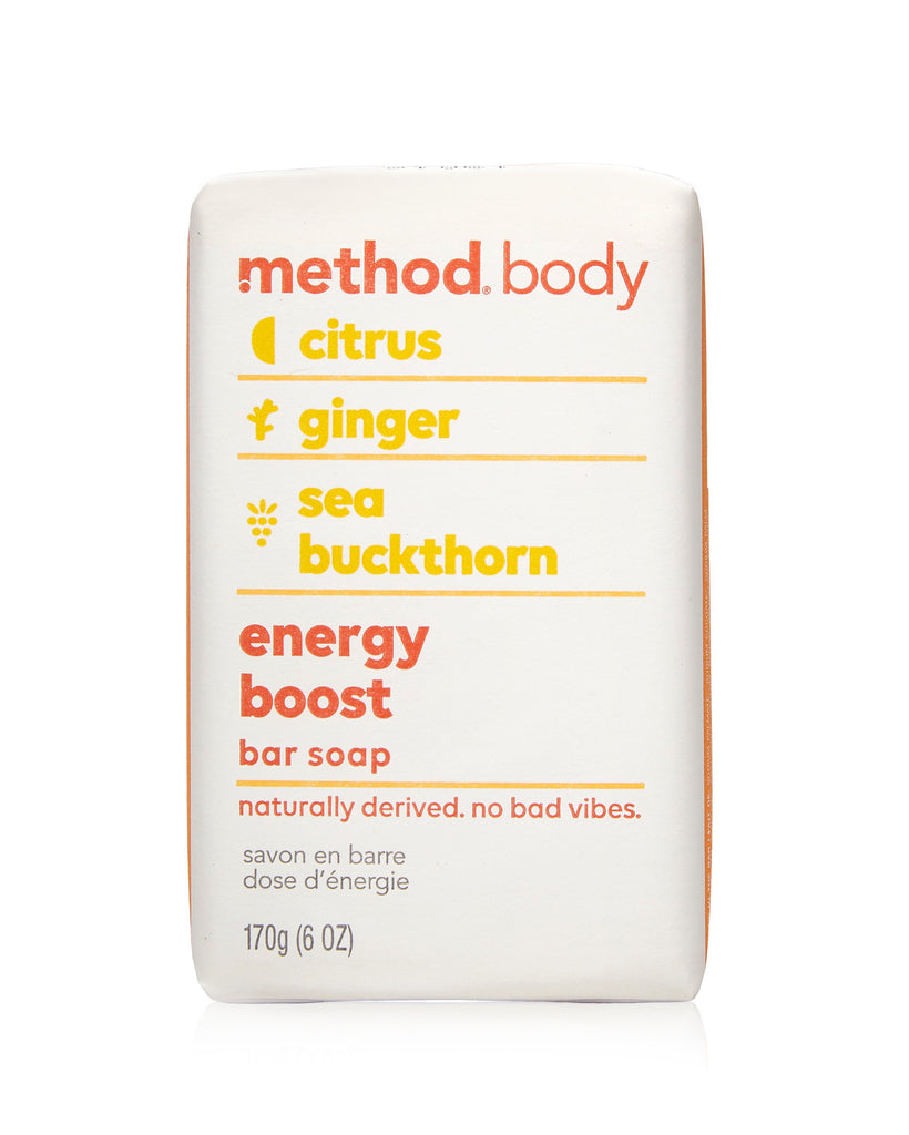 body bar soap energy boost 170g