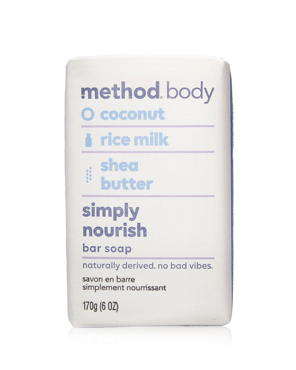 body bar soap simply nourish 170g