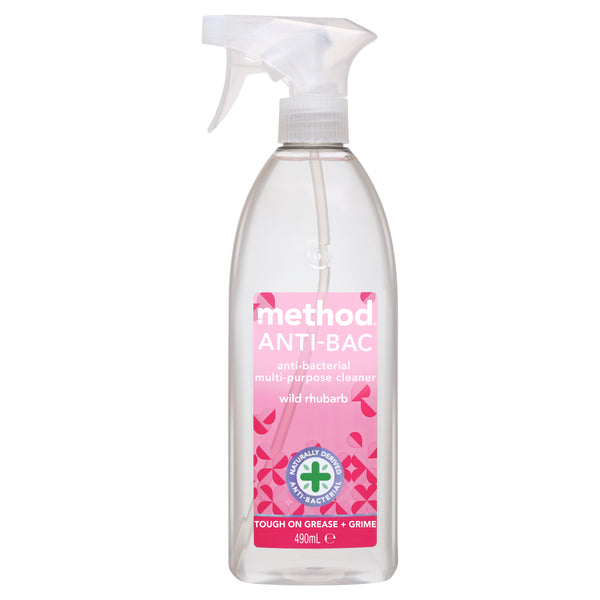 anti-bac multi-purpose cleaner wild rhubarb 490ml