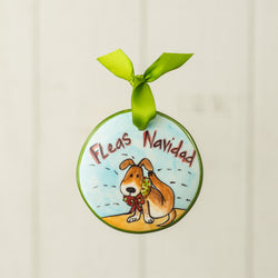 Fleas Navidad Handpainted Personalized Ornament - nolawatkins.com