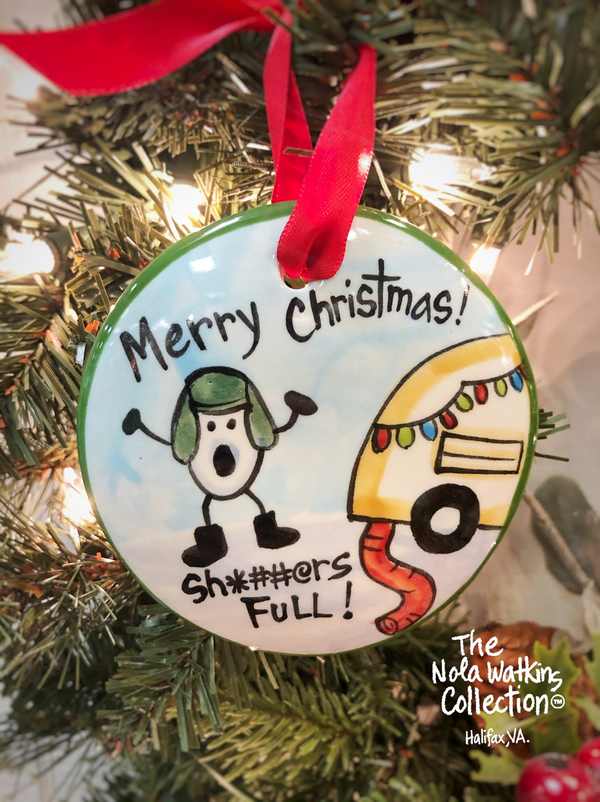 Cousin Eddie A Christmas Vacation Handpainted Christmas Ornament - nolawatkins.com