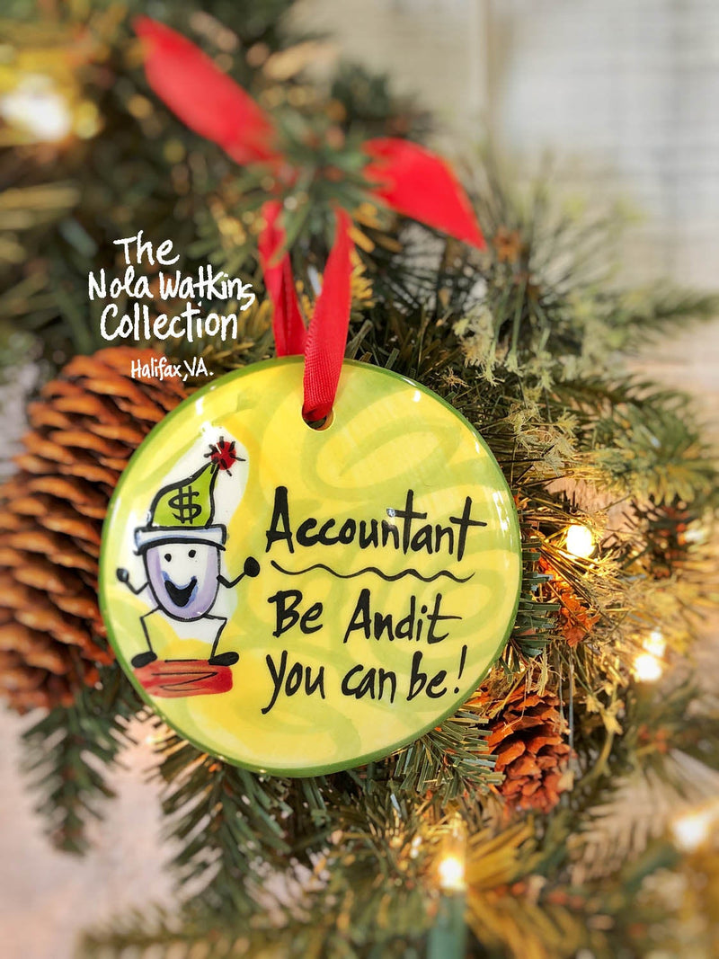 Accountant Ornament - nolawatkins.com
