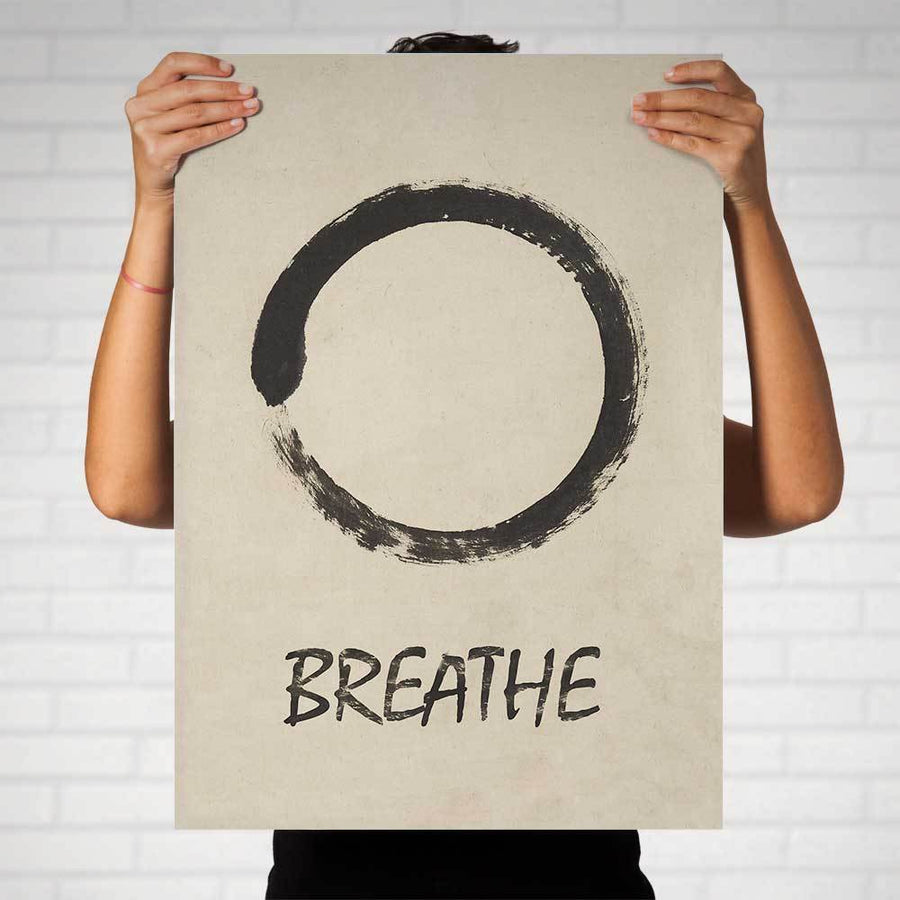 Enso Breathe II Art Print