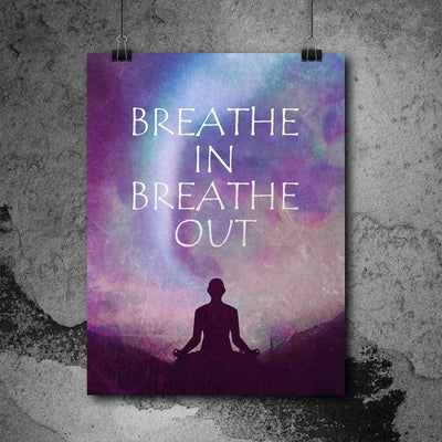 Breathe In Breathe Out Art Print