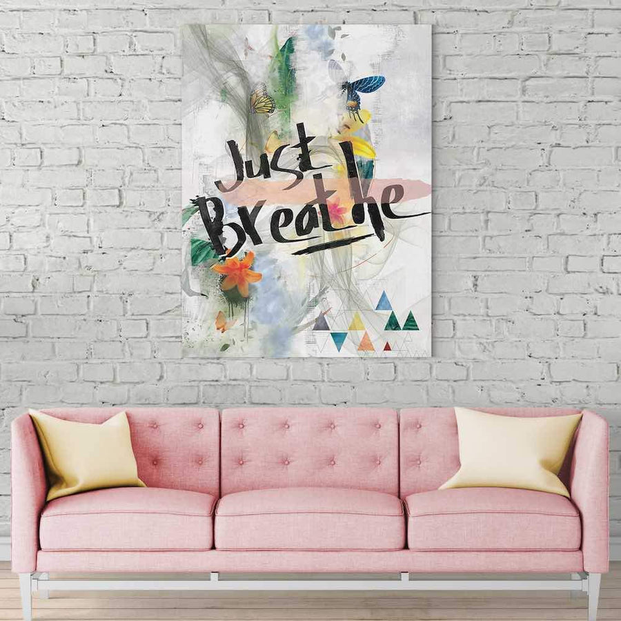 Just Breathe Canvas