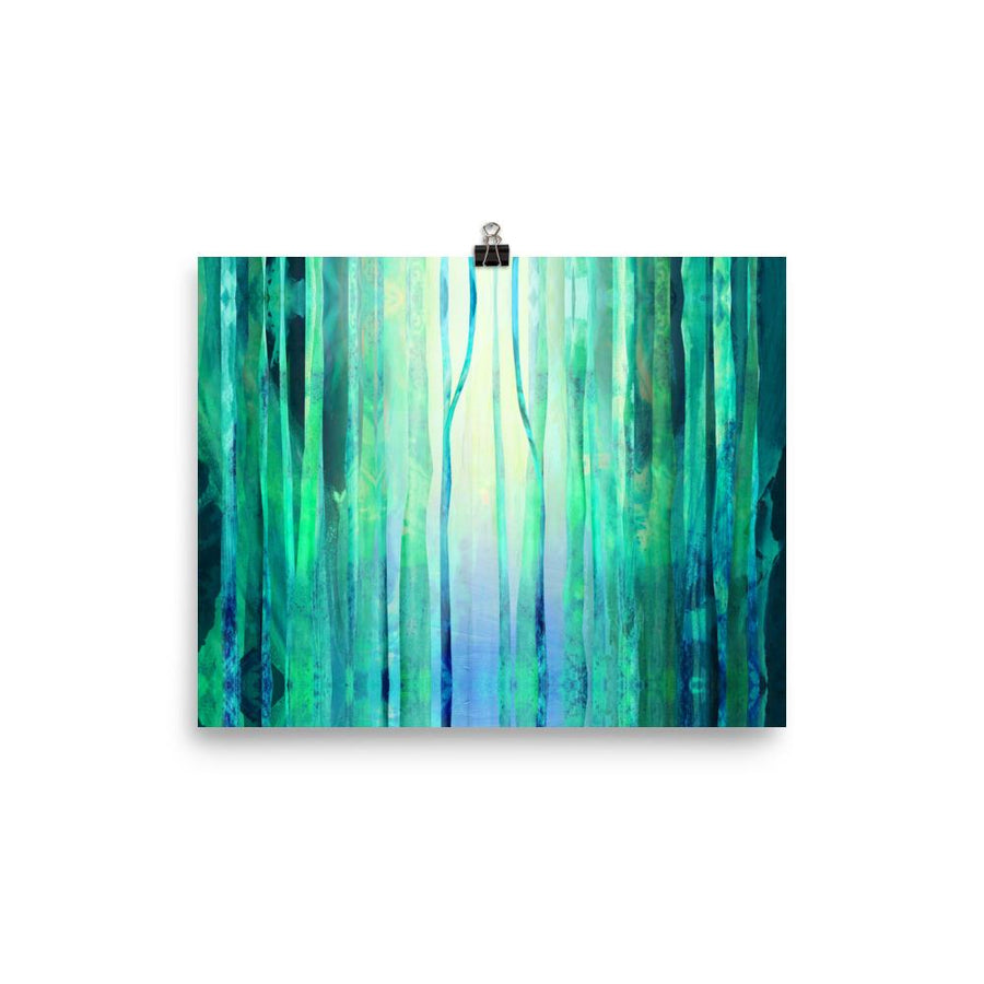 Calm Forest Art Print