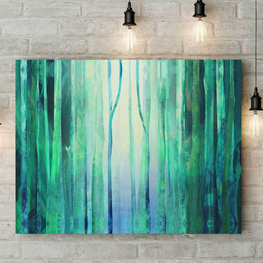 Calm Forest Canvas