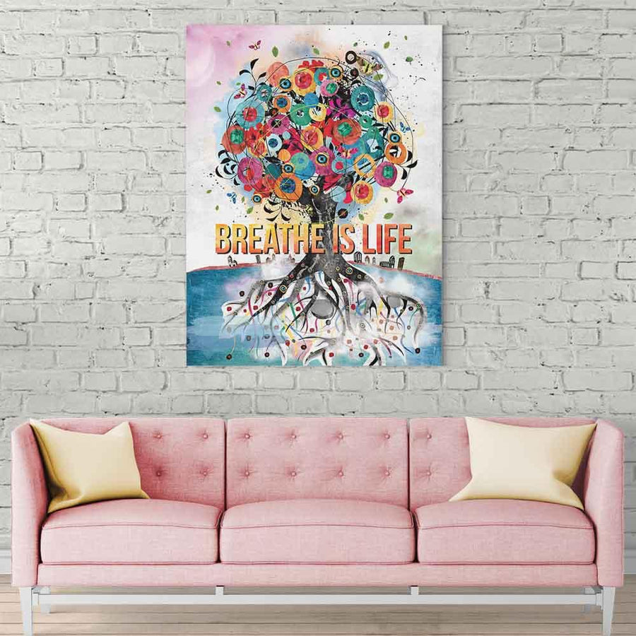 Breath is Life Canvas