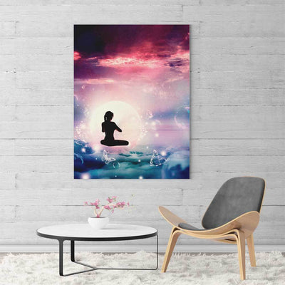 Float Meditation Canvas