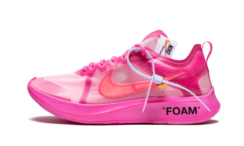 Zoom Fly Off-White Tulip Pink