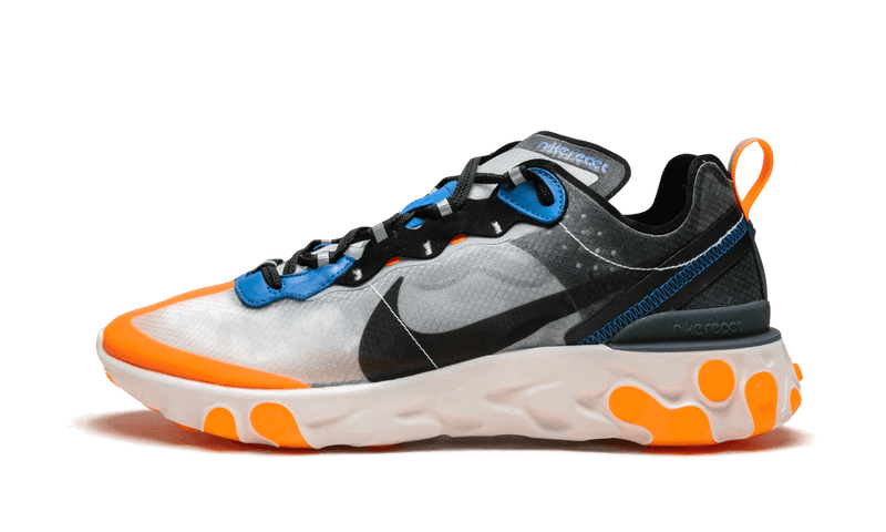 React Element 87 Thunder Blue Orange