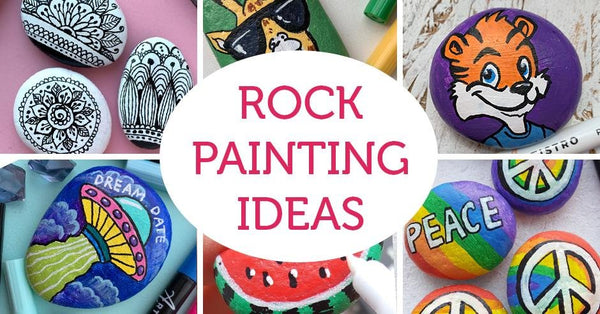 30 Easy Rock Painting Ideas For Inspiration Artistro