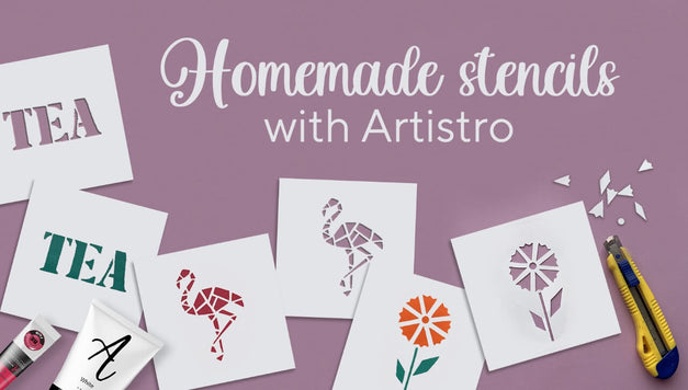 How to make a stencil for painting with Artistro