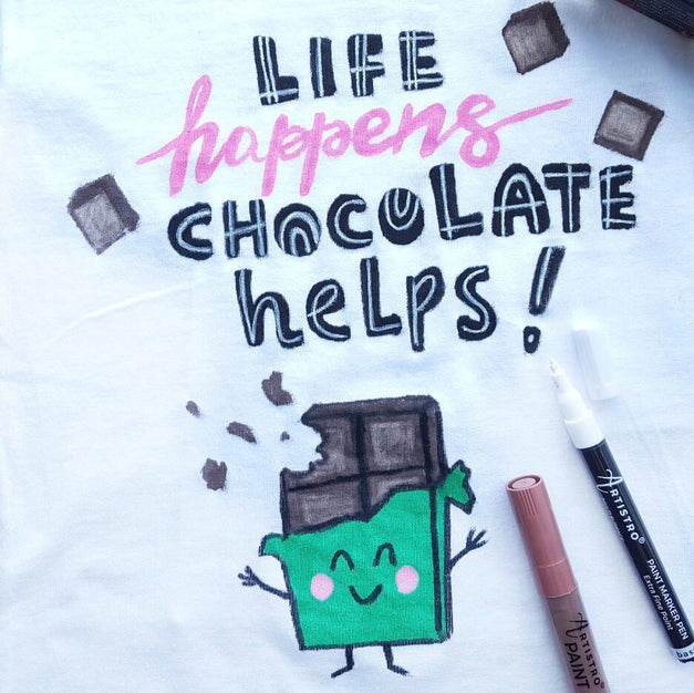 World Chocolate Day T-shirt Decorating Ideas from Artistro | Artistro