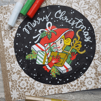 Drawings for Christmas: Finding Your Inspiration in Vintage | Artistro
