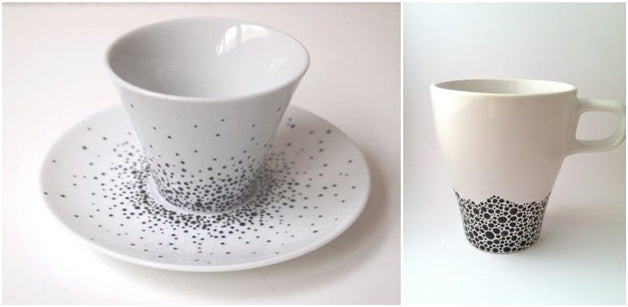 diy coffee mug art