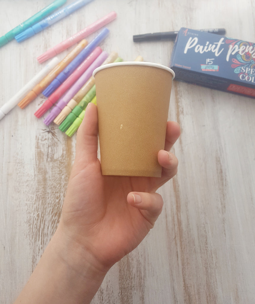 paper cup for painting