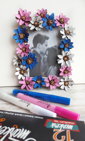 handmade picture frame tutorial